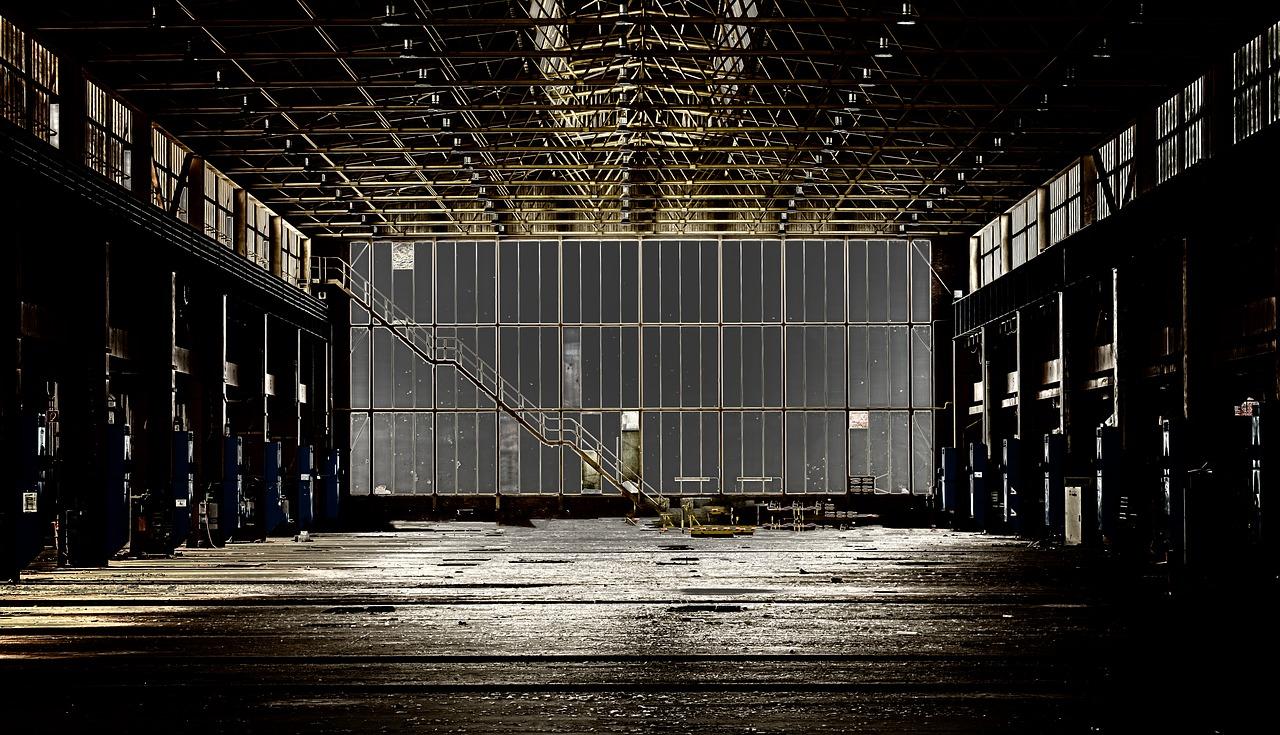 akoestiek in fabriekshal