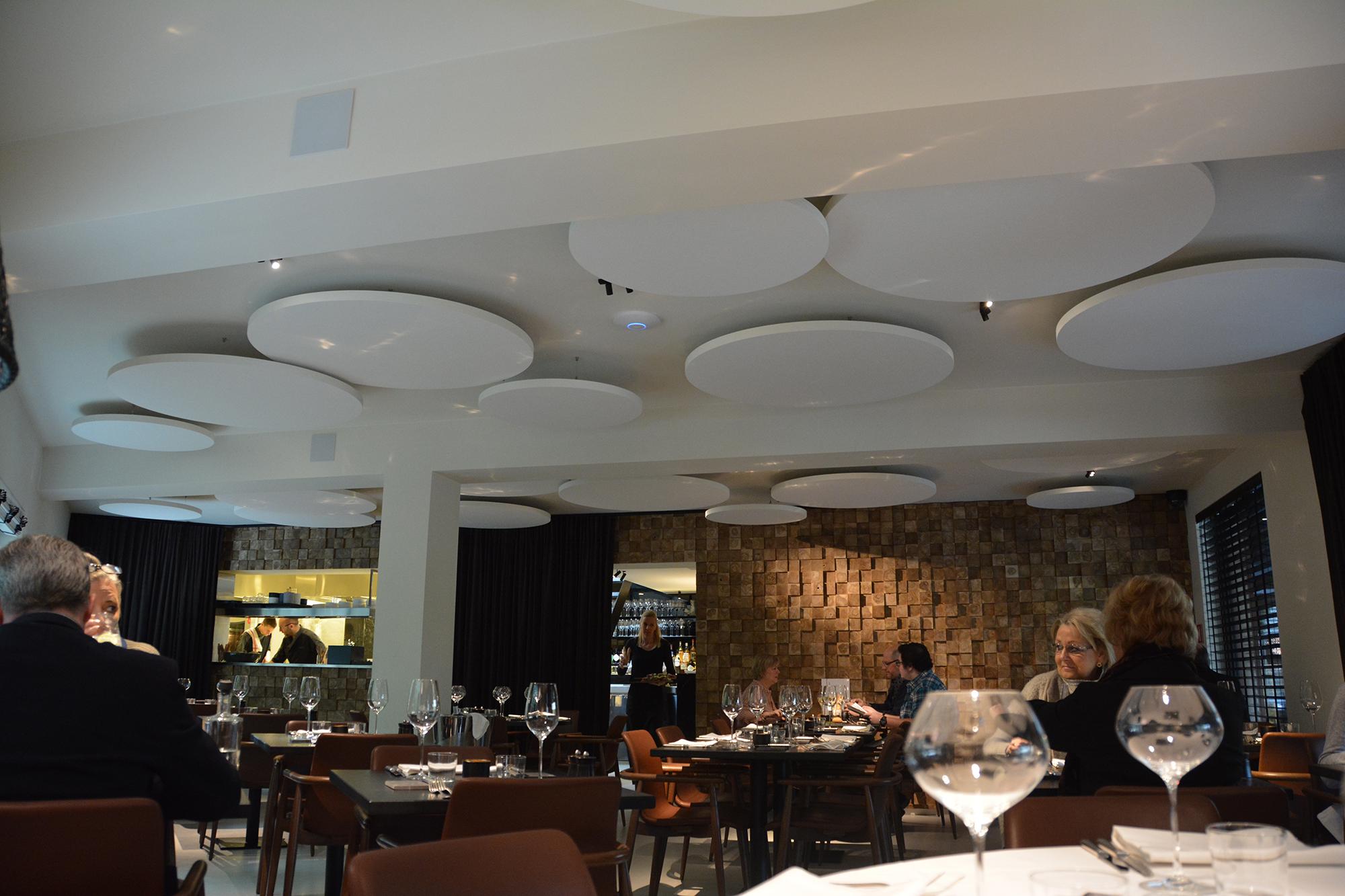 restaurant alex akoestische panelen