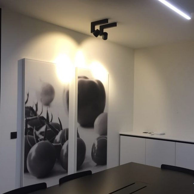 akoestisch fotopaneel